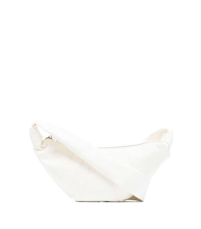 SMALL CROISSANT BAG  WHITE