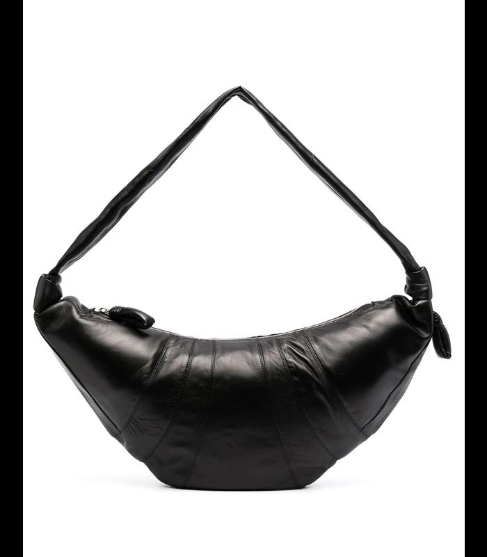 LARGE CROISSANT BAG BLACK