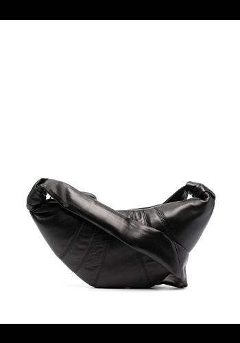 LEMAIRE small croissant bag black