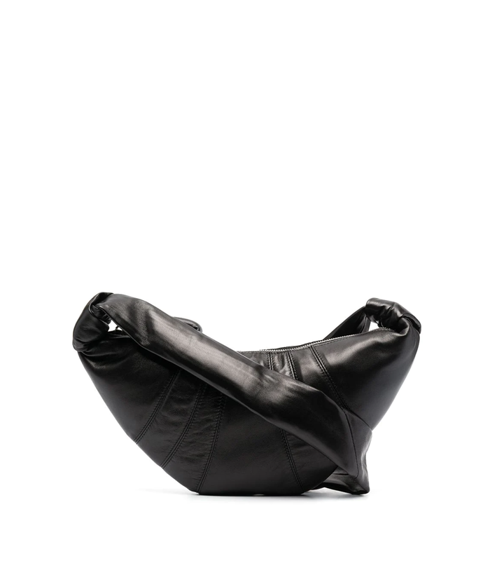 SMALL CROISSANT BAG BLACK