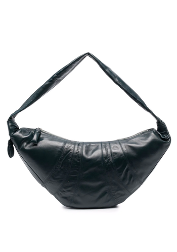 LEMAIRE large croissant bag midnight green