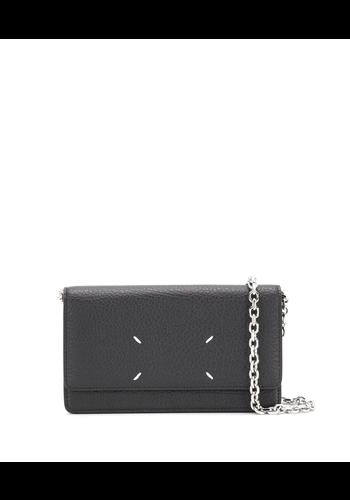 MAISON MARGIELA large chain wallet black