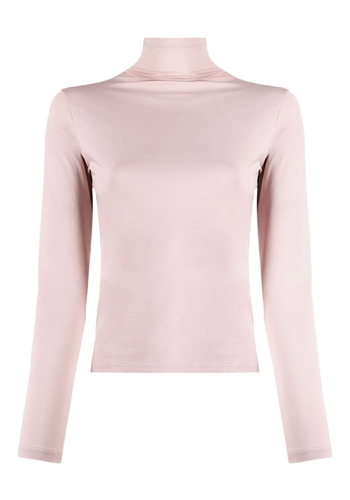 LEMAIRE longsleeve second skin top dusty rose