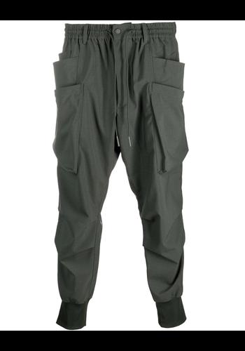 Y-3 ripstop pants shadow green