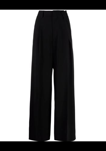 MM6 MAISON MARGIELA wide leg pants black