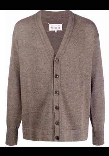 MAISON MARGIELA pullover vest brown