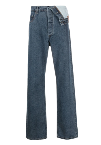 Y/PROJECT classic assymetric waist jean