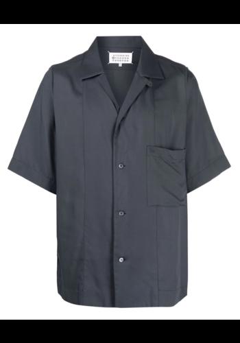 MAISON MARGIELA shirt short sleeve dark grey