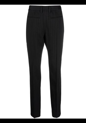 MM6 MAISON MARGIELA pinstripe trousers black