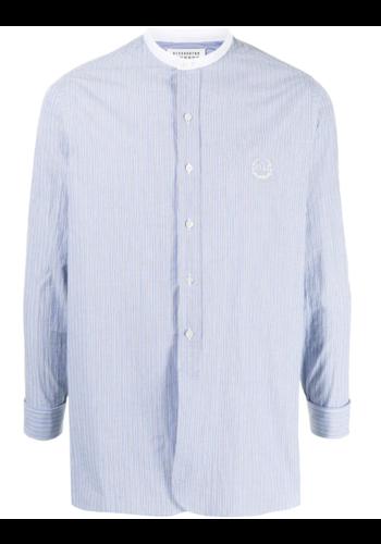 MAISON MARGIELA shirt light blue stripe
