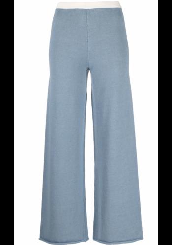 MM6 MAISON MARGIELA knitwear pants blue