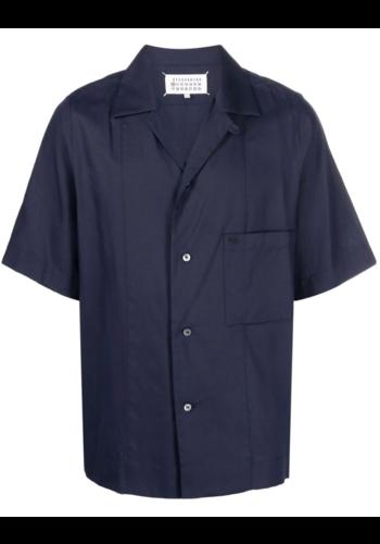 MAISON MARGIELA short sleeve shirt navy