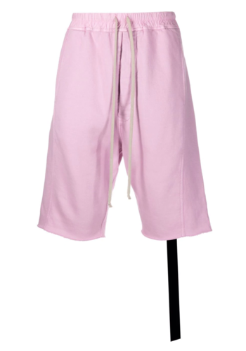 RICK OWENS DRKSHDW pusher shorts dirty pink