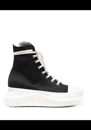RICK OWENS DRKSHDW abstract sneakers black/milk