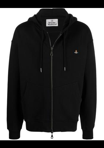 VIVIENNE WESTWOOD rugged zip hoodie