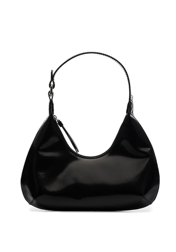 BY FAR baby amber bag semi patent leather