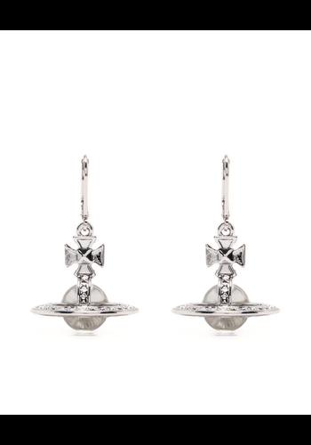 VIVIENNE WESTWOOD pina orb earrings crystal