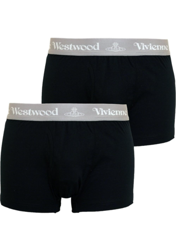 VIVIENNE WESTWOOD two-pack boxer black