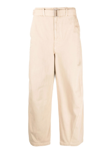 LEMAIRE twisted pants saltpeter