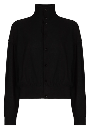 LEMAIRE reversible sweater black