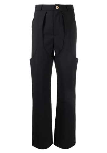 NINAMOUNAH primate linger trousers black
