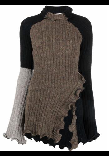 OTTOLINGER rib knit turtleneck black earth