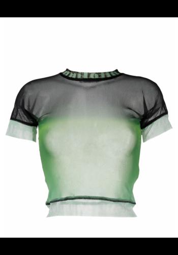 OTTOLINGER mesh t-shirt after eight