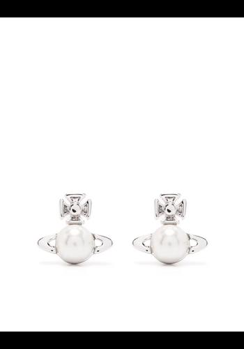 VIVIENNE WESTWOOD balbina earrings cream pearl