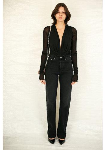 RICK OWENS LILIES gia bodysuit black