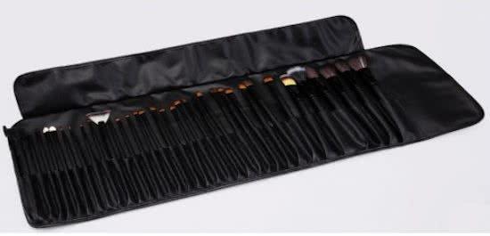 36 delige Black Professional Makup brush Set  - Copy