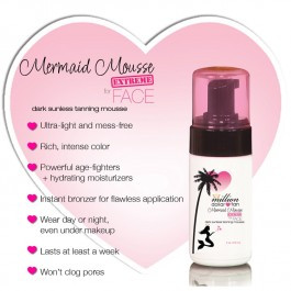 Million Dollar Tan - Mermaid Mousse Face Extreme
