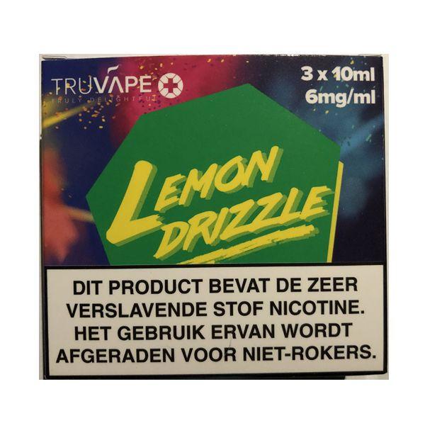 TruVape+ TruVape+ Lemon Drizzle E-Liquid(3x10ml)