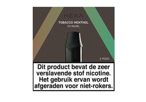 Hexa Pods Tobacco Menthol (2 pcs)