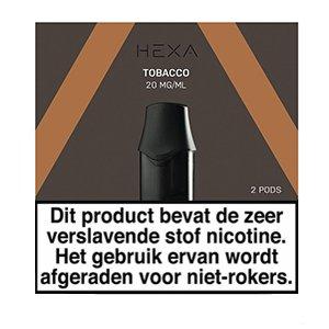 Hexa Hexa Pods Tobacco (2 stuks)