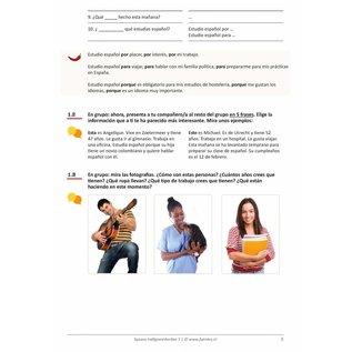 Spaans Halfgevorderden 1 lesboek