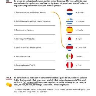 Spaans Conversatie B2 lesboek