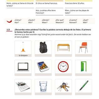 Spaans Beginners 2 lesboek + uitwerkingenboekje