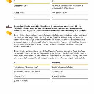 Conversatie A1 lesboek + uitwerkingenboekje