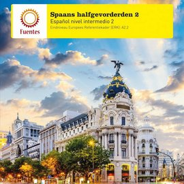 Spaans Halfgevorderden 2 lesboek + uitwerkingenboekje