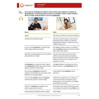 Spaans Halfgevorderden 3 lesboek + uitwerkingenboekje