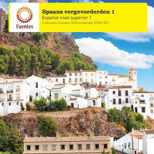 Spaans Vergevorderden 1 lesboek + uitwerkingen