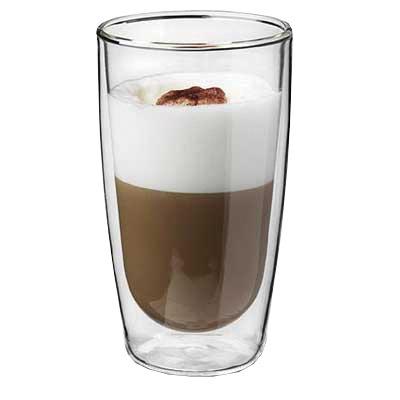 Dubbelwandig café latte glas Papillon 350ml 603308