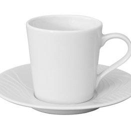 Spal Porselanas Espresso kop en schotel 10cl reliëf Waves Spal Porselanas 9222176