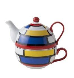 Cosy & Trendy Tea for one theepot Mondriaan Cosy&Trendy 1629335