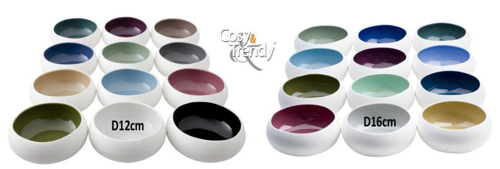 Cosy & Trendy Schaaltje Rainbow 16cm Cosy & Trendy Professional 8126116