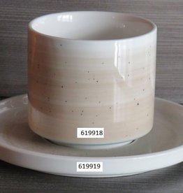 Kop 25cl Spring beige/blauw 619918