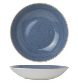 Cosy & Trendy Bord diep 21cm Cosy&Trendy Terra Blue 4579021