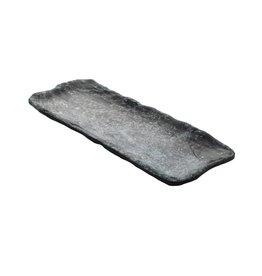 Cheforward Schaal rechthoek 30x12,5cm Cheforward Endure zwart gemarmerd 529786