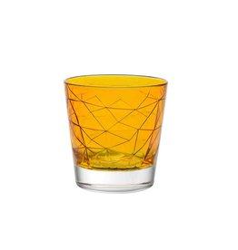 Vidivi Longdrinkglas 29cl Vidivi Dolomiti High Ball amber 530673