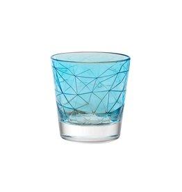 Vidivi Longdrinkglas 29cl Vidivi Dolomiti High Ball paars turqoise 530670
